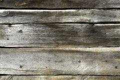 Old weathered wooden shield of planks background royalty free stock photos