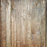 Old weathered wooden wall, square texture Stock Images