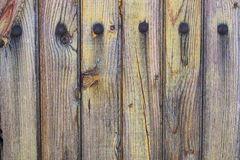 Old weathered and worn wooden planks Stock Photography
