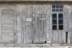 An old weathering wooden shack Royalty Free Stock Image