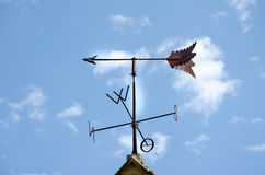 Old weathervane of Tubingen old town Royalty Free Stock Images