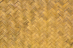 Old weave bamboo wall Stock Photography