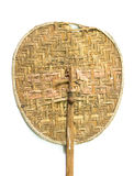Old Weave fan made of bamboo Royalty Free Stock Photography
