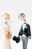 Old wedding dolls Royalty Free Stock Image