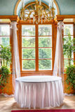 Old wedding interior Royalty Free Stock Photography