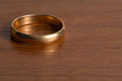 Old Wedding Ring Royalty Free Stock Photography