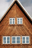 Old weekend house - cottage. Old wood weekend house - cottage Royalty Free Stock Photos