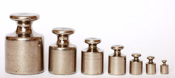 Old Weights Royalty Free Stock Photo