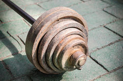 Old weights Royalty Free Stock Photography