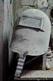 Old welding mask Royalty Free Stock Photography