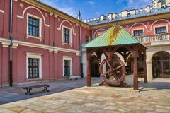 Old well in the Сourtyard Royalty Free Stock Photography