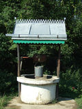 Old well. On village suburb Stock Photo