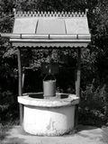 Old well. On village suburb Stock Photography