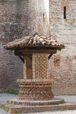 Old well in the castle Royalty Free Stock Photo