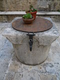 Old well on countryside. In the Montenegro Royalty Free Stock Photography