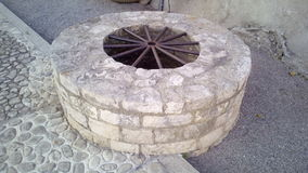 Old well at fortres Pula, Croatia Royalty Free Stock Image