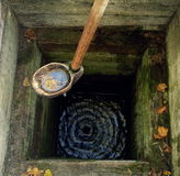 Old well. History known well located in central Ukraine Royalty Free Stock Images