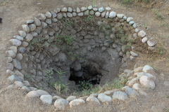 Old Well from the Nazca Culture Stock Photography