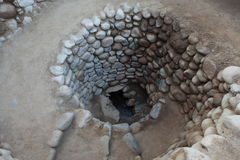 Old Well from the Nazca Culture Stock Images