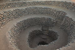 Old Well from the Nazca Culture Royalty Free Stock Photos