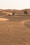 The old well in Sahara desert for groundwater. Merzouga, Morocco Stock Image