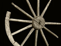 Old well wheel Royalty Free Stock Photography