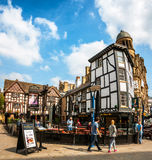 Old wellington Inn in Manchester Royalty Free Stock Photo