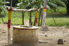 Old Wells at Ometepe Island Stock Photography