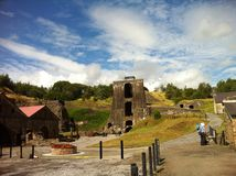 Old welsh mine Royalty Free Stock Images