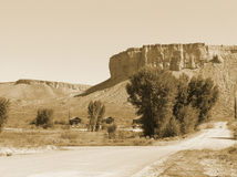 Old West. Hills in Colorado Royalty Free Stock Image