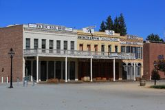 Old West Architecture Royalty Free Stock Photos