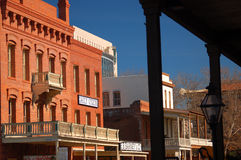 Old West Architecture, Old Sacramento Royalty Free Stock Images