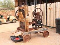 USA, Arizona: Old West - Assayers ore crusher Royalty Free Stock Image