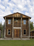 Old West Bank Building. An old west building Royalty Free Stock Photography
