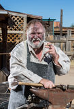 Old West Blacksmith Stock Image