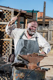 Old West Blacksmith Royalty Free Stock Image