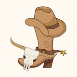 Old west. Design, vector illustration eps10 graphic royalty free illustration