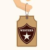 Old west. Design, vector illustration eps10 graphic stock illustration
