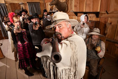 Old West Desperado Royalty Free Stock Images