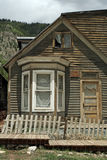 Old West Ghost Town. The remains of a ghost town in the Rocky Mountains. Many towns were built around the mining industry, and later abandoned stock photo