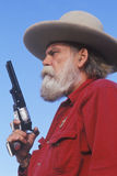 Old West gunslinger Royalty Free Stock Image