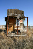 Old West Mercantile Building Stock Photos