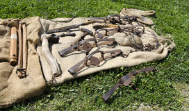 Old West Mountain Man Tools