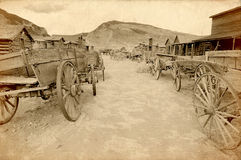 Old west, Old trail town, Cody Stock Photography