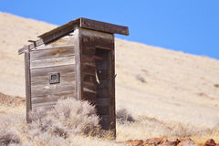 Old West Out House Stock Photos