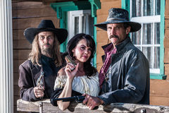 Old West Portrait Stock Photography
