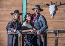 Old West Portrait Stock Photo