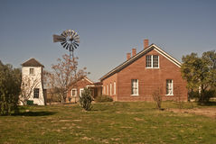 Old West Ranch House Stock Photography