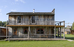 Old West Restaurant and Hotel Royalty Free Stock Photography