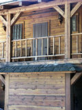Old West room above saloon-1 Royalty Free Stock Photos